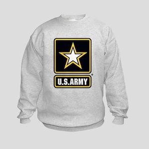 U.S. Army Gold Star Logo Sweatshirt