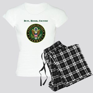 Duty Honor Country Army Pajamas
