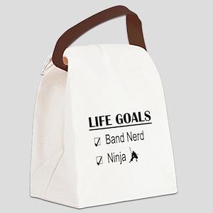 Band Nerd Ninja Life Goals Canvas Lunch Bag