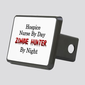 Hospice Nurse/Zombie Hunte Rectangular Hitch Cover