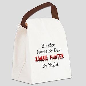 Hospice Nurse/Zombie Hunter Canvas Lunch Bag