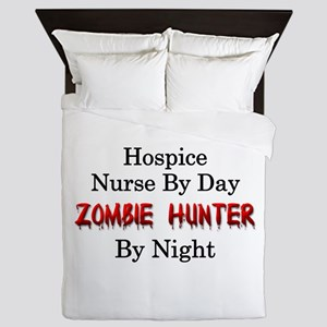 Hospice Nurse/Zombie Hunter Queen Duvet