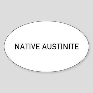 Native_Austin Sticker
