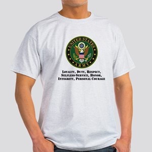 U.S. Army Values T-Shirt