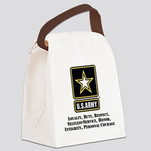 U.S. Army Values Canvas Lunch Bag