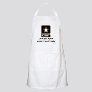 U.S. Army Values Apron