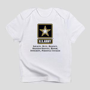 U.S. Army Values Infant T-Shirt