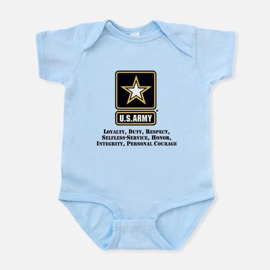 U.S. Army Values Body Suit