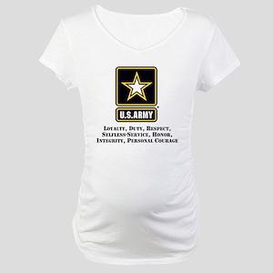 U.S. Army Values Maternity T-Shirt