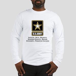 U.S. Army Values Long Sleeve T-Shirt