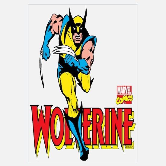 Wolverine Running Wall Art