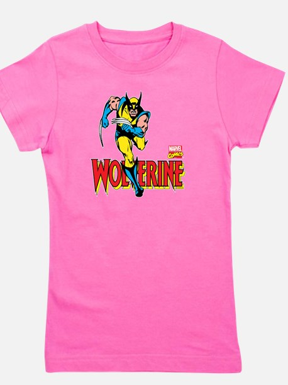 Wolverine Running Girl's Tee