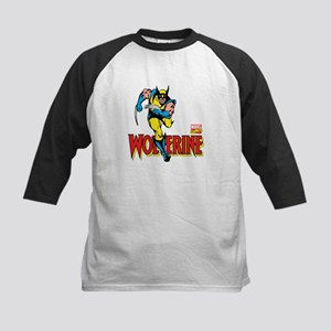 Wolverine Running Kids Baseball Jersey