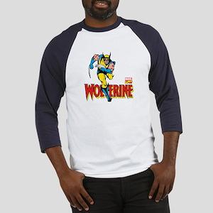 Wolverine Running Baseball Jersey