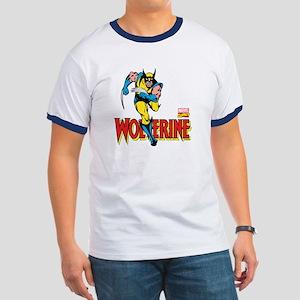 Wolverine Running Ringer T