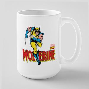 Wolverine Running Large Mug