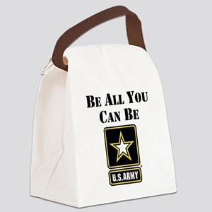 Be All You Can Be Canvas Lunch Bag