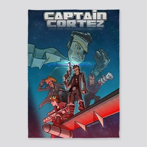 Cortez Throwback Poster 5'x7'Area Rug