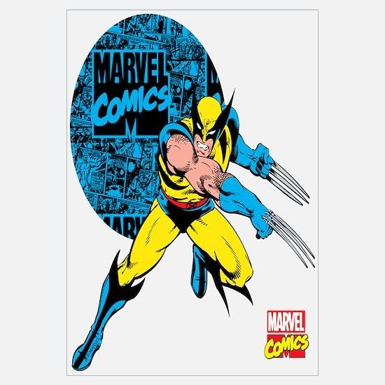 Wolverine Circle Wall Art