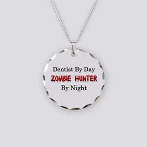 Dentist/Zombie Hunter Necklace Circle Charm