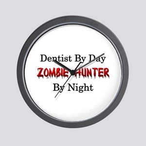 Dentist/Zombie Hunter Wall Clock