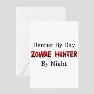 Dentist/Zombie Hunter Greeting Card