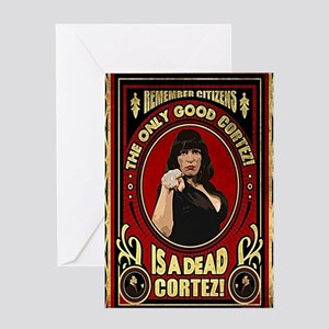 Dead Cortez 01 Greeting Card