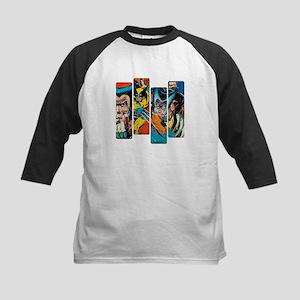 Wolverine Panel Kids Baseball Jersey