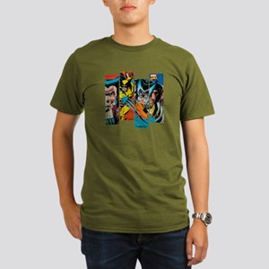 Wolverine Panel Organic Men's T-Shirt (dark)