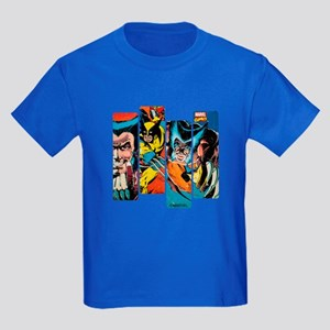 Wolverine Panel Kids Dark T-Shirt