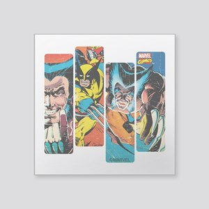 "Wolverine Panel Square Sticker 3"" x 3"""