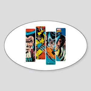 Wolverine Panel Sticker (Oval)