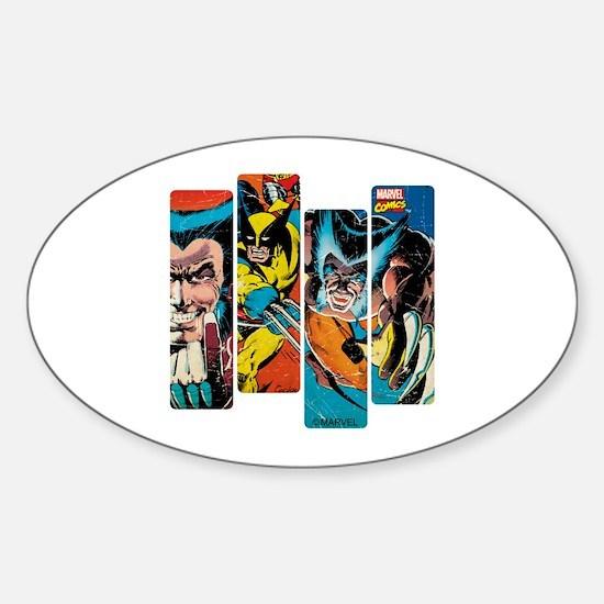 Wolverine Panel Sticker (Oval)