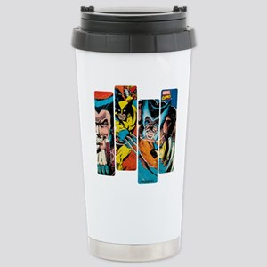 Wolverine Panel Stainless Steel Travel Mug