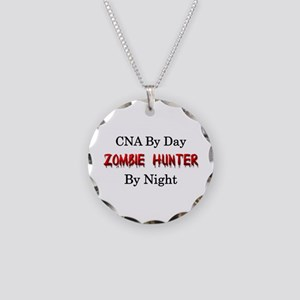CNA/Zombie Hunter Necklace Circle Charm