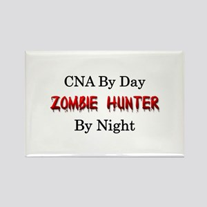 CNA/Zombie Hunter Rectangle Magnet