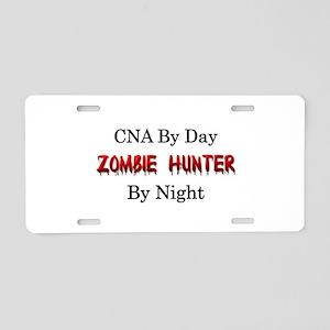 CNA/Zombie Hunter Aluminum License Plate