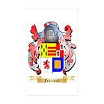 Ferrarotti Sticker (Rectangle 50 pk)