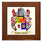Ferrarone Framed Tile