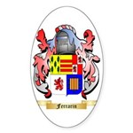 Ferrarin Sticker (Oval 10 pk)