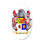 Ferrar Oval Car Magnet