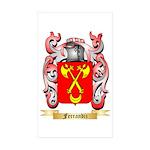 Ferrandiz Sticker (Rectangle 50 pk)