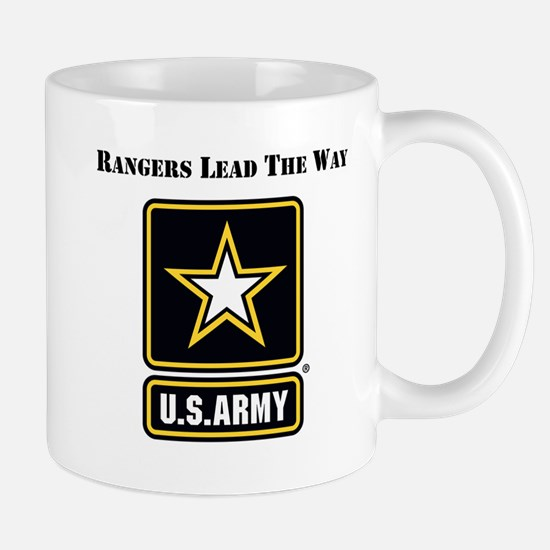 Army Rangers Lead The Way Mugs
