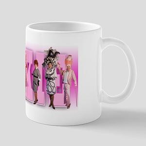 Pinkie Meringue Shimmer Mug