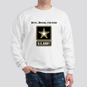 Duty Honor Country Army Sweatshirt