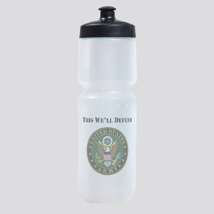 This Well Defend Army Sports Bottle