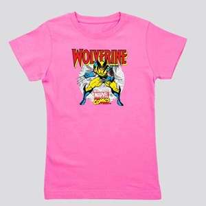 Wolverine Attack Girl's Tee