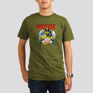 Wolverine Attack Organic Men's T-Shirt (dark)