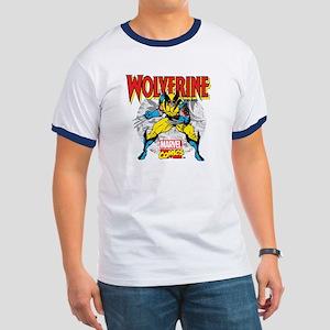 Wolverine Attack Ringer T