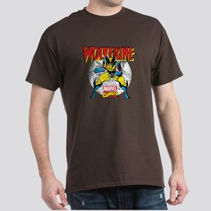 Wolverine Attack Dark T-Shirt